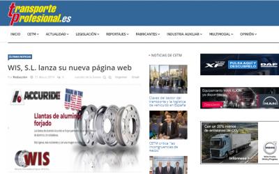 WIS, S.L. estrena su nueva web